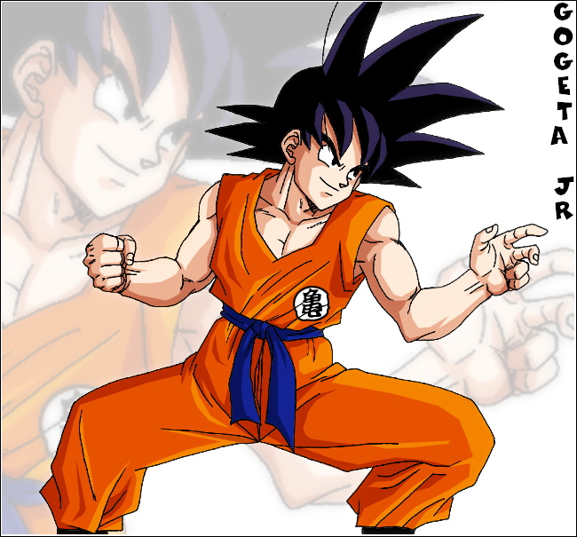 Comment dessiner sangoku super sayen 10000 - Sangoku dessin ...