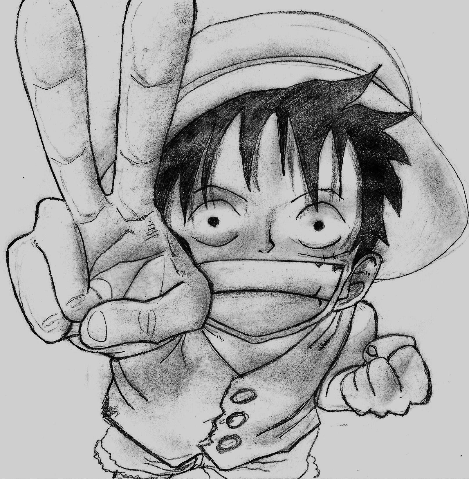 Dessin De Manga One Piece Dessin De Manga